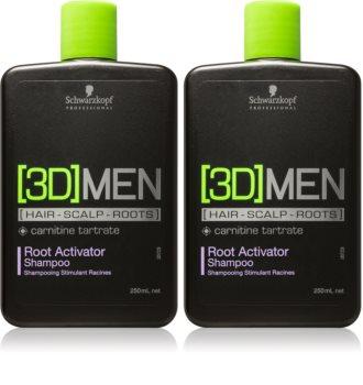 Schwarzkopf Professional [3D] MEN Kosmetik-Set  (für schütteres Haar) für Herren